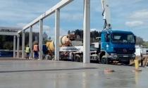 Casino Dolní Dvořiště - dodávka a čerpání betonu 1