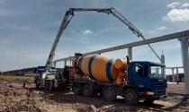 Casino Dolní Dvořiště - dodávka a čerpání betonu 2